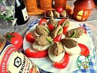 Яйца, фаршированные паштетом ингредиенты