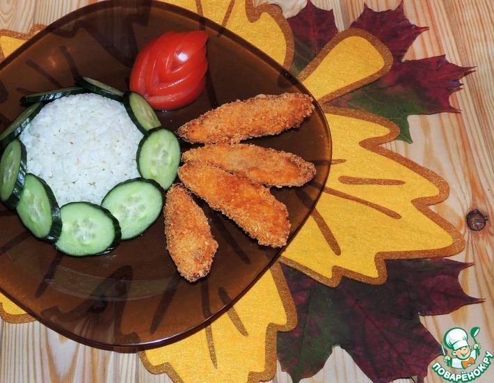 Рецепт: Имбирные наггетсы Осенний вечер