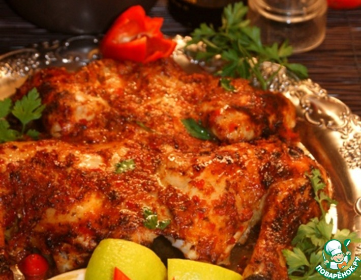 Рецепт: Секретная курица-3