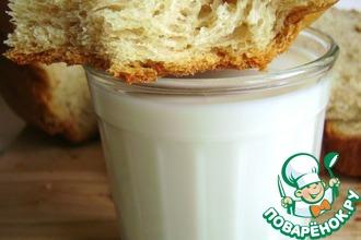 Рецепт: Хлеб с гороховой мукой и луком