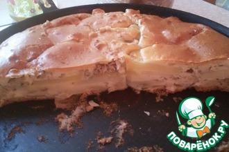 Рецепт: Пирог закусочный ''3 стакана''
