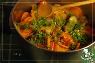 Рецепт: Тушеные овощи в собственном соку
