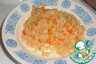 Рецепт: Жареный рис