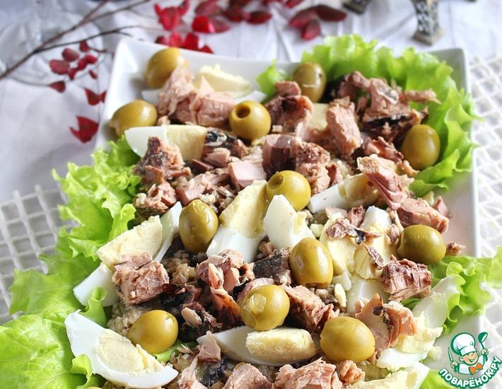 Рецепт: Салат из баклажанов по-провансальски