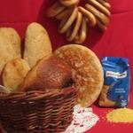 Хлеб с пшенной кашей