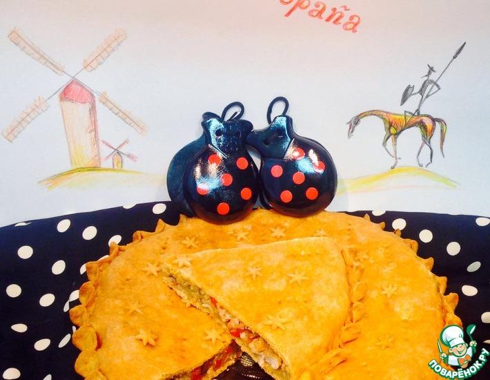 Рецепт: Пирог с курицей Андалус