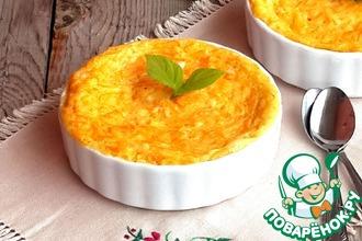 Рецепт: Десертный манный омлет с морковью