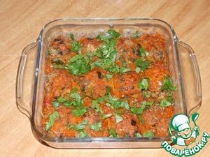 Рецепт Гречневые тефтели с грибами в томатном соусе