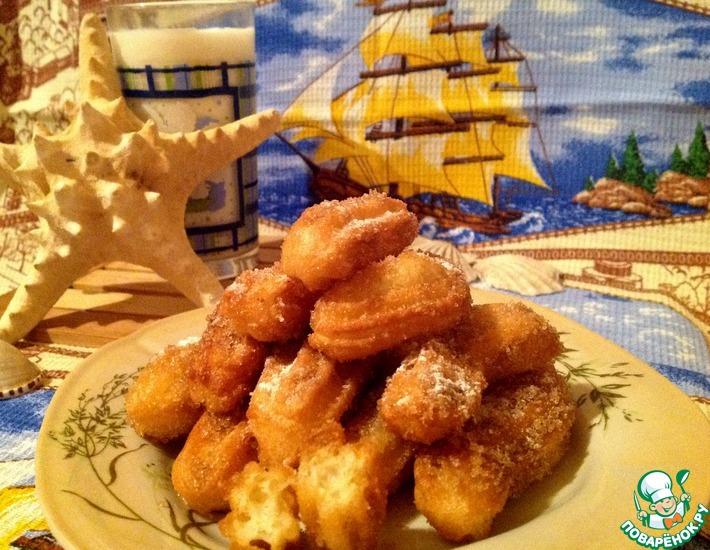 Рецепт: Испанский десерт Чуррос