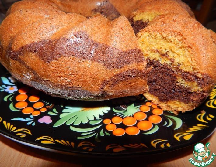 Рецепт: Пирог с тыквой