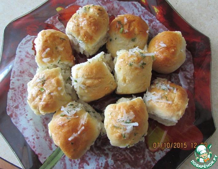 Рецепт: Вкусные пампушки