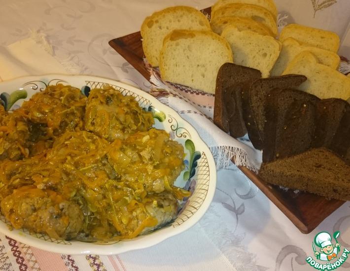 Рецепт: Тефтели с кабачками