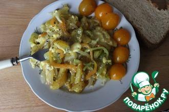 Рецепт: Жареный картофель с яйцами