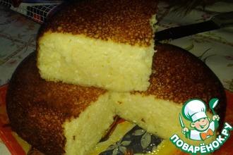 Рецепт: Творожная запеканка в хлебопечке
