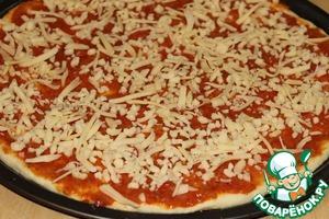 Тонкое тесто и соус для итальянской пиццы – кулинарный рецепт