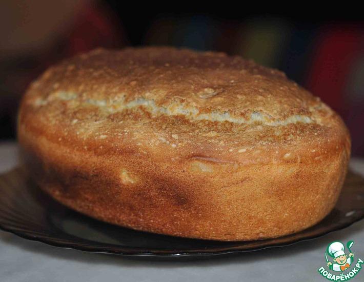 Белый хлеб обыкновенный – кулинарный рецепт