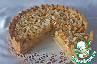 Рецепт: Яблочный пирог с миндалем