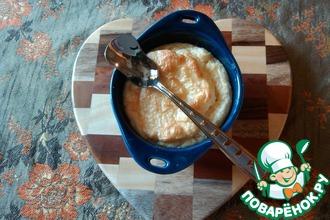 Рецепт: Сырное суфле Завтрак для влюбленных