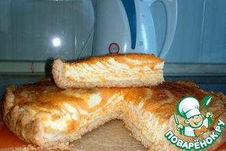 Рецепт: Тыквенный пирог с творогом