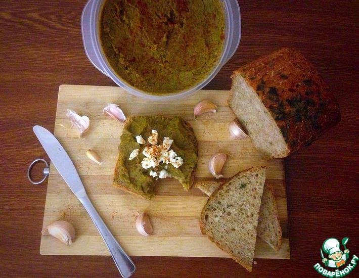Рецепт: Чечевичный паштет