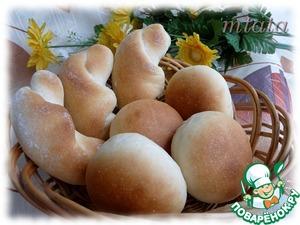 Рецепт Кунцевские булочки и рогалики
