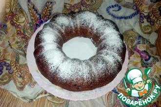 Рецепт: Пряный кекс с клюквой