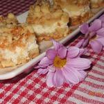 Яблочно-творожный пирог Слоёный