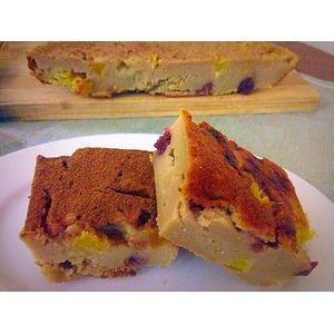 Заварной пирог с апельсинами и нектаринами