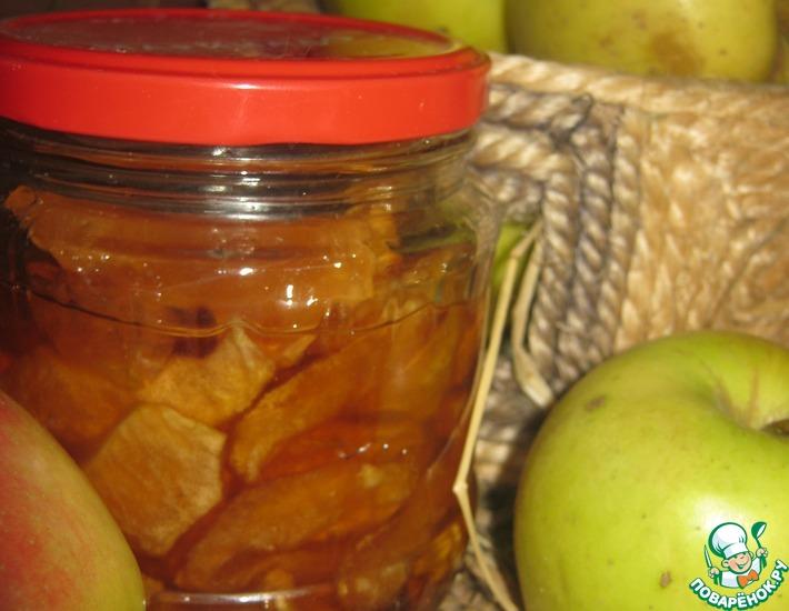 Рецепт: Яблочные дольки Блики солнца в янтаре