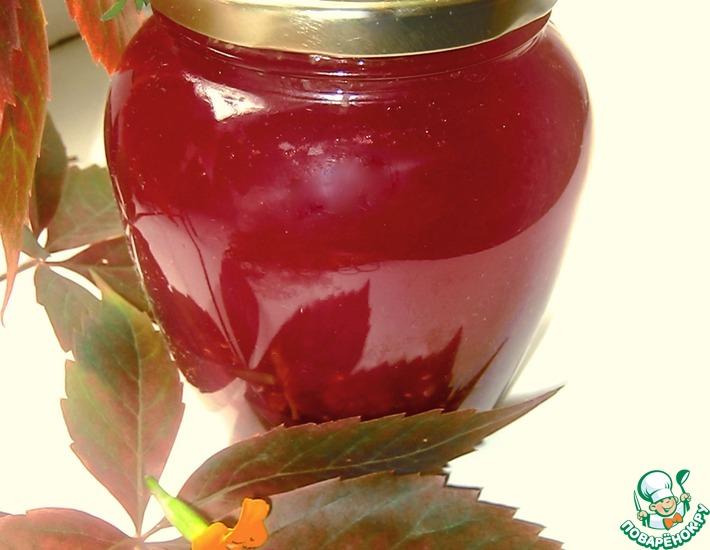 Рецепт: Варенье арбузно-малиновое Осенний поцелуй
