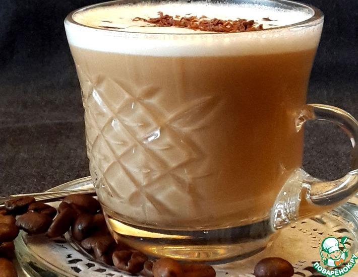 Рецепт: Крем-кофе по-французски с ликёром
