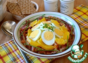 Рецепт Французский сельский салат
