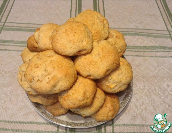 Рецепт: Печенье с яблоками