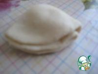 Французская булочка с кремом ингредиенты