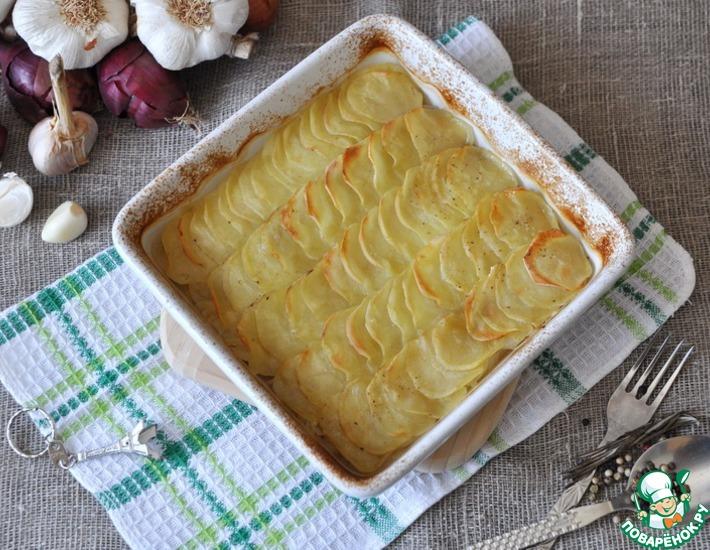 Рецепт: Картофель «Буланжер» от Гордона Рамзи