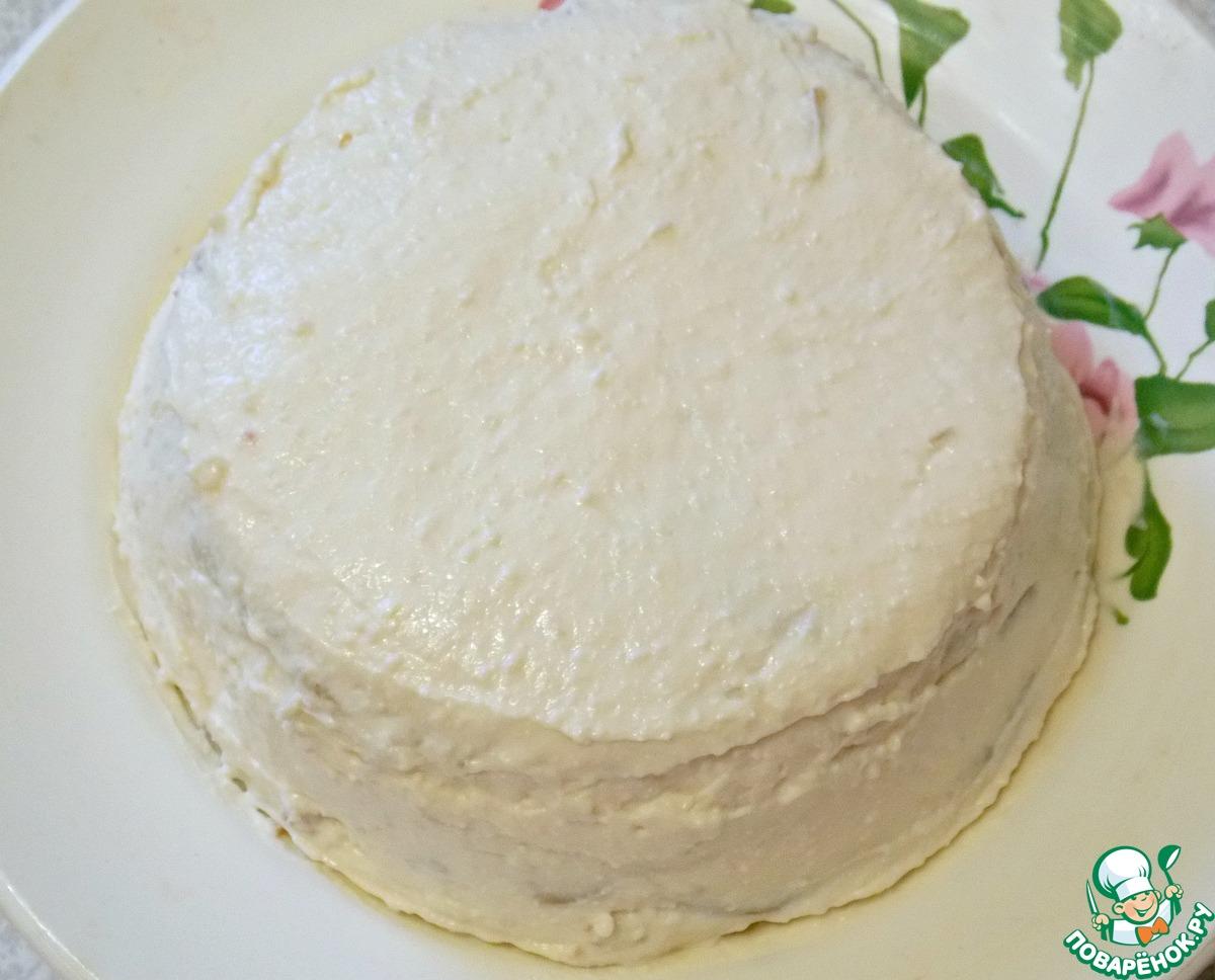 Торт с овсяными коржами