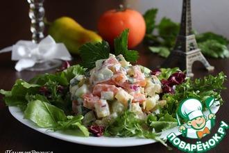 Рецепт: Картофельный салат во французском стиле