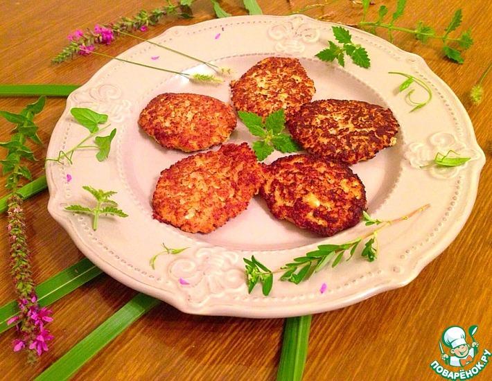 Рецепт: Бананово-персиковые сырники