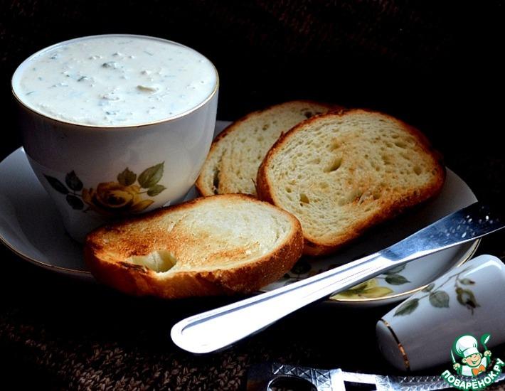 Рецепт: Закуска из творога Мозги ткача