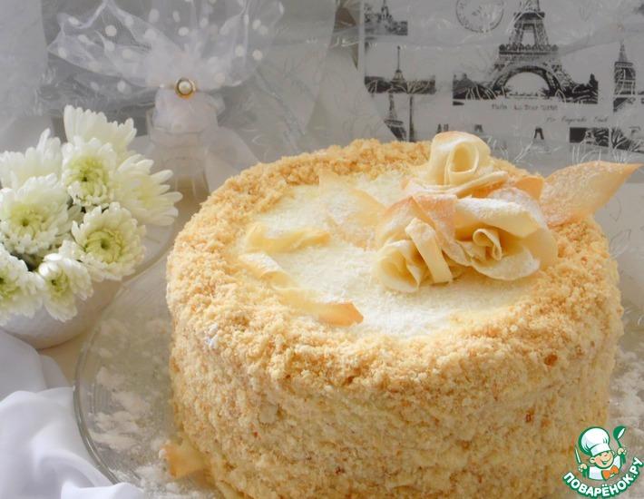 рецепт наполеона торт на сайте поваренок