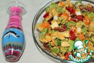 Рецепт: Осенний салат с пшеном