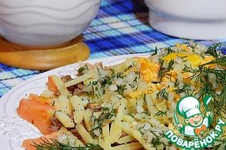 Рецепт: Вкусный мясной салат