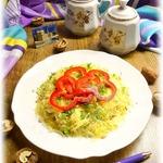 Салат Яблоки под сыром