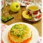 Французский салат Нежность