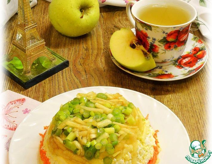 Рецепт: Французский салат Нежность
