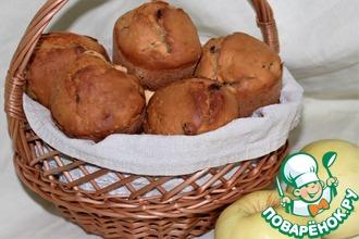 Рецепт: Маффины с пшеном и яблоком