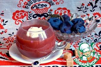 Рецепт: Украинская кислица из слив