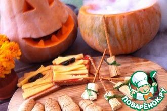 Рецепт: Закуски на Хэллоуин