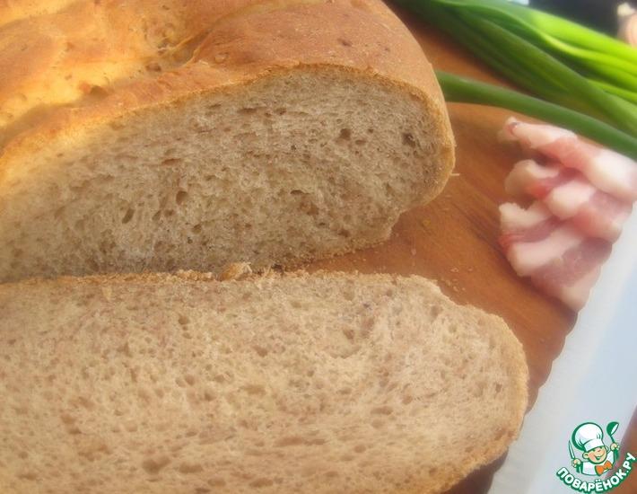 Рецепт: Гречневый хлеб на сыворотке