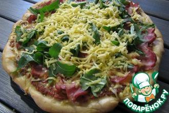 Рецепт: Итальянская пицца по-домашнему